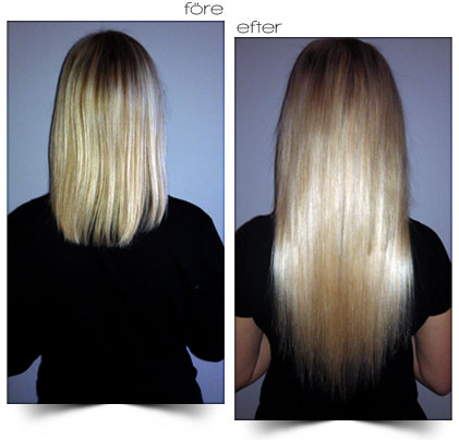 göra hårförlängning stockholm