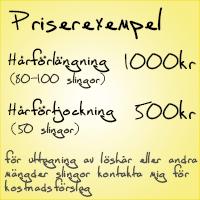 hårförlängning pris stockholm